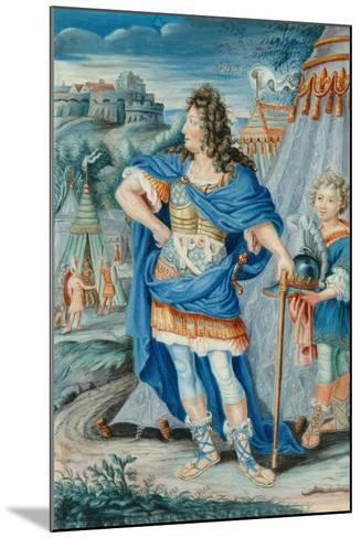 French Noble in Medieval Costume--Mounted Giclee Print