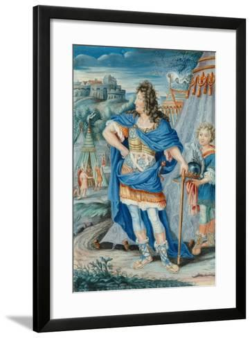 French Noble in Medieval Costume--Framed Art Print