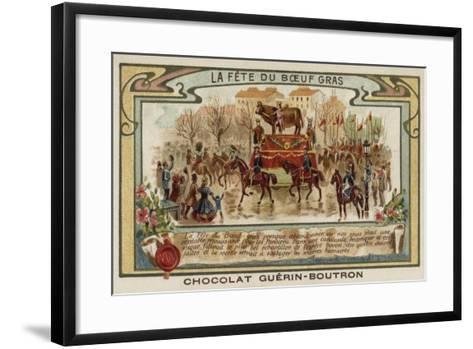 Festival of the Fatted Bull, Paris--Framed Art Print