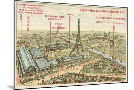 Exposition Universelle, Paris--Mounted Giclee Print