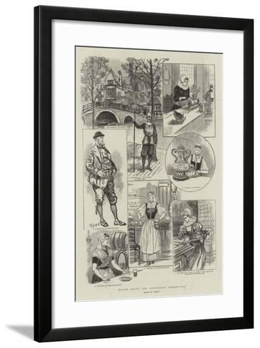 Round About the Amsterdam Exhibition--Framed Art Print