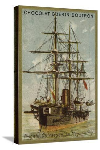French Ironclad Frigate Magnanime--Stretched Canvas Print