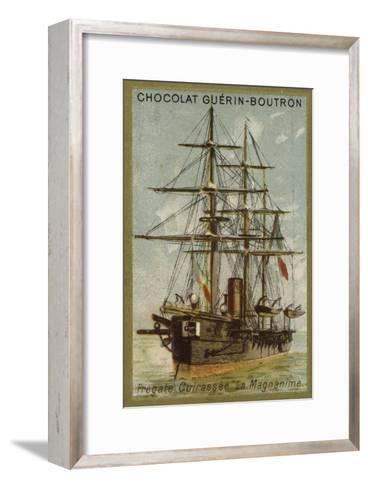 French Ironclad Frigate Magnanime--Framed Art Print