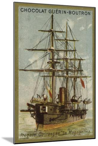 French Ironclad Frigate Magnanime--Mounted Giclee Print