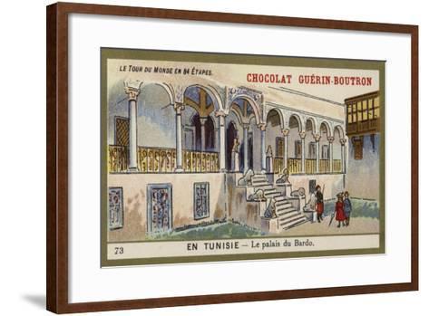 The Bardo Palace, Tunisia--Framed Art Print