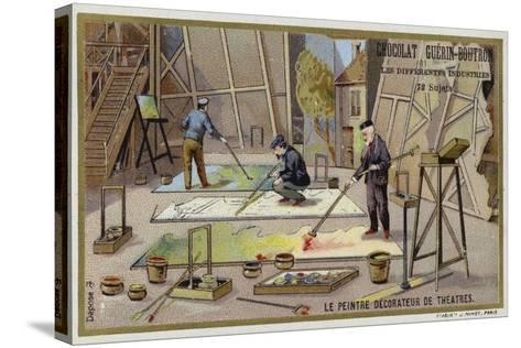 Theatre Painters and Decorators--Stretched Canvas Print