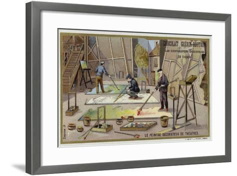 Theatre Painters and Decorators--Framed Art Print