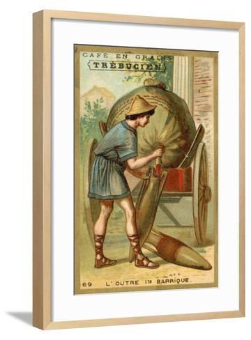 Wineskin - the First Cask--Framed Art Print