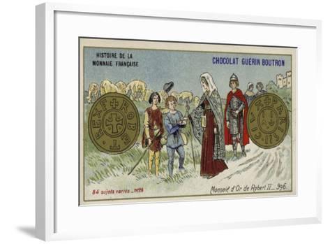 Gold Coins of Robert II, 996--Framed Art Print