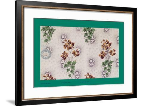 French Fabrics, 1800-50--Framed Art Print