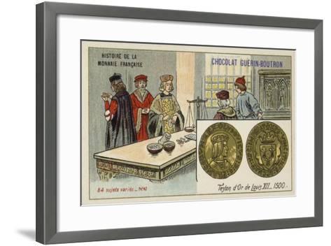 Gold Teston of Louis XII, 1500--Framed Art Print
