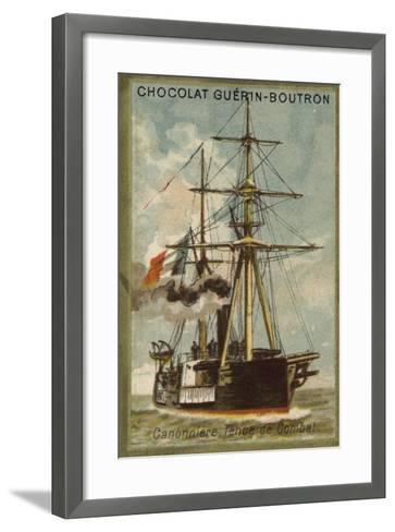 Gunboat, Ready for Combat--Framed Art Print