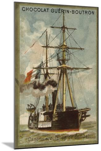 Gunboat, Ready for Combat--Mounted Giclee Print
