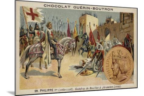 Godfrey of Bouillon at Jerusalem, 1099--Mounted Giclee Print