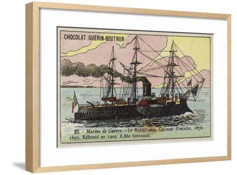 French Ironclad Redoutable, 1876--Framed Art Print