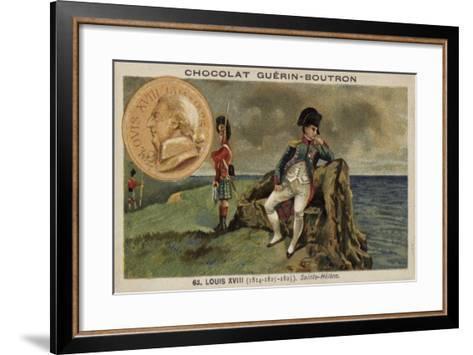 Napoleon in Exile on St Helena--Framed Art Print