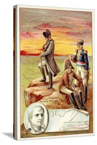 Napoleon in Exile on St Helena--Stretched Canvas Print