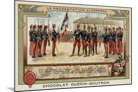 The Presentation of the Flag--Mounted Giclee Print
