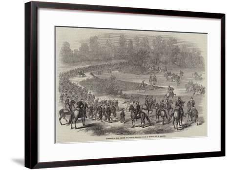 Passage of the Chiese by French Troops--Framed Art Print