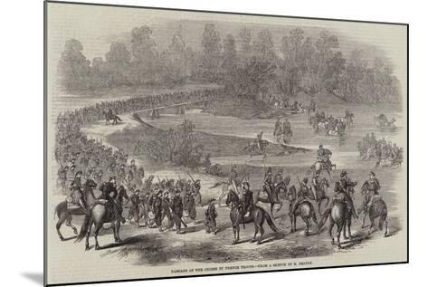 Passage of the Chiese by French Troops--Mounted Giclee Print