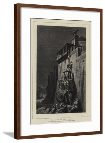 The Geese of the Capitol--Framed Art Print