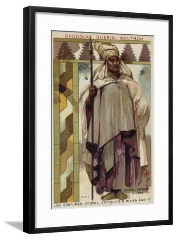 Moorish Soldier from Spain--Framed Art Print