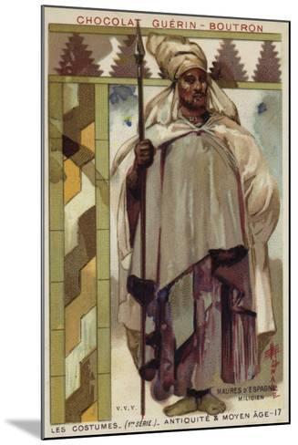 Moorish Soldier from Spain--Mounted Giclee Print