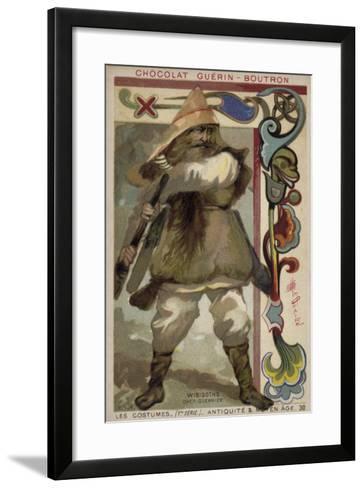 Visigoth Warrior Chieftain--Framed Art Print