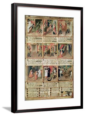 Miracle of the Profanation of the Host--Framed Art Print