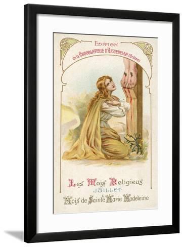 July, Month of St Mary Magdalene--Framed Art Print