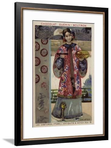 Ancient Chinese Costume--Framed Art Print