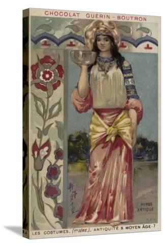 Ancient Persian Costume--Stretched Canvas Print
