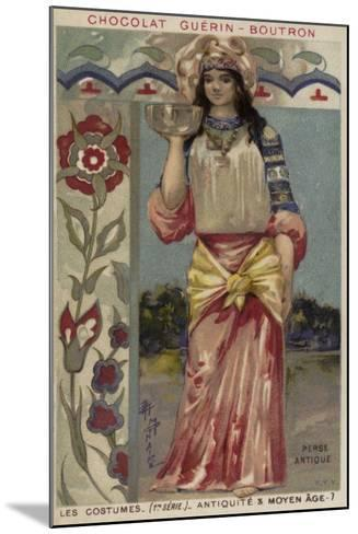Ancient Persian Costume--Mounted Giclee Print