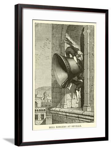 Bell Ringers at Seville--Framed Art Print