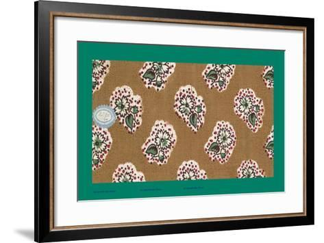 French Fabrics, 1800-50--Framed Art Print