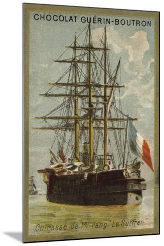 French Ironclad Suffren--Mounted Giclee Print