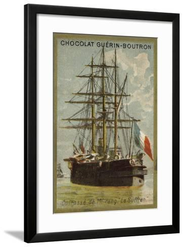 French Ironclad Suffren--Framed Art Print