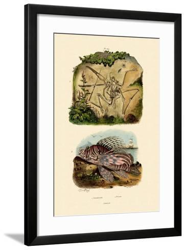 Winged Finger, 1833-39--Framed Art Print