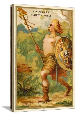 Gallic Warrior, 390 BC--Stretched Canvas Print
