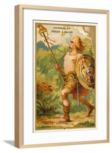 Gallic Warrior, 390 BC--Framed Art Print