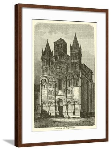 Cathedral of Angouleme--Framed Art Print
