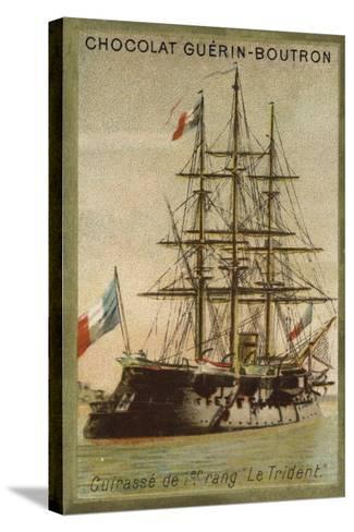 French Ironclad Trident--Stretched Canvas Print