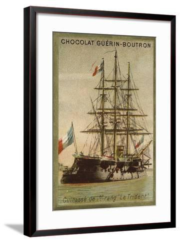 French Ironclad Trident--Framed Art Print