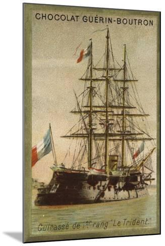 French Ironclad Trident--Mounted Giclee Print