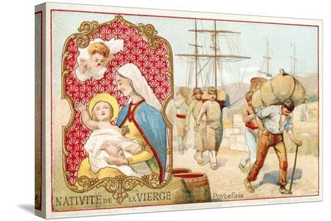 Nativity of the Virgin--Stretched Canvas Print