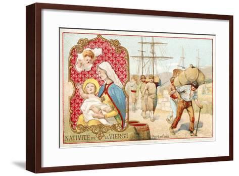 Nativity of the Virgin--Framed Art Print