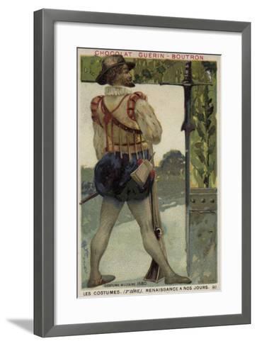 Military Costume, 1580--Framed Art Print