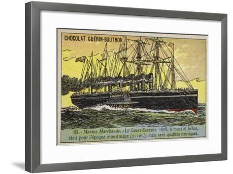 Ss Great Eastern, 1858--Framed Art Print