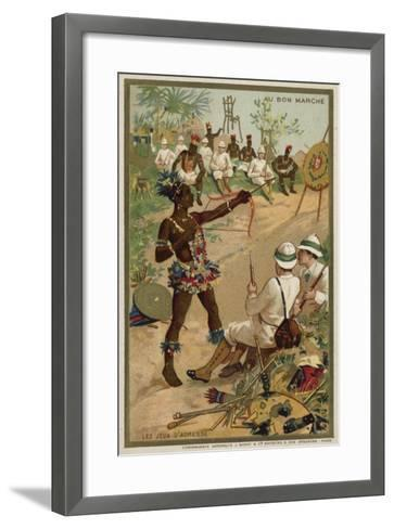 Games of Skill--Framed Art Print