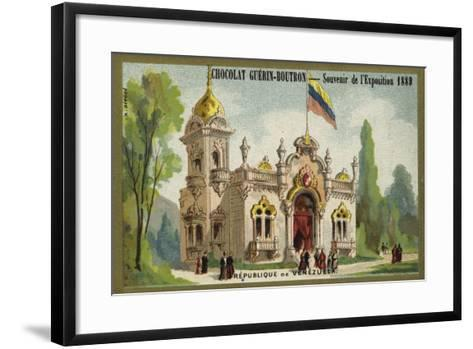 Republic of Venezuela--Framed Art Print